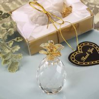 Choice Crystal Clear Pineapple With Gold Detail